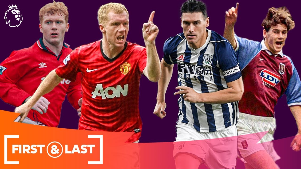 Midfield Maestros' First & Last Premier League Goals   Paul Scholes, Gareth Barry & mor