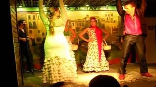 ★►Испанский танец Фламенко (flamenco) в Альбайсин Гранада Испания tablao albayzin  ★►(Мой блог http://lyubovgrosheva.ru/ Заказать слайд шоу из Ваших фотографий можно здесь: ▻е-майл: lyubovgrosheva@gmail.com skype : ilusha2009..., 2015-08-11T15:32:15.000Z)