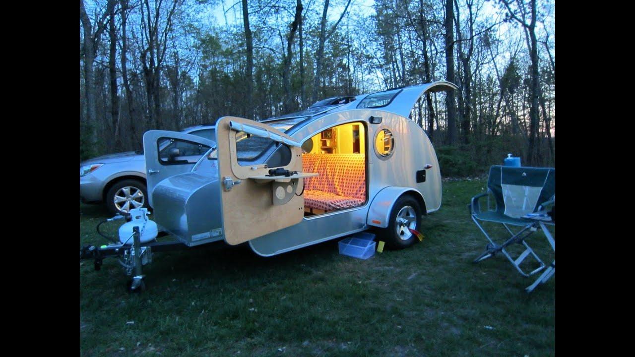 Gidget Retro Teardrop Camper Teardrop Trailer Vistabule 6 Youtube