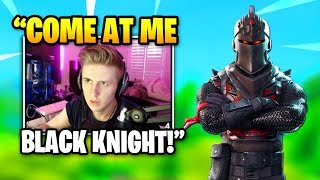 Symfuhny Fights A RARE Black Knight Skin Until THIS HAPPENS | Fortnite Daily Funny Moments Ep.342