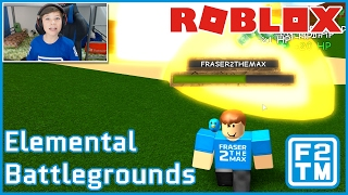 O DEUS ELEMENTAL ESTÁ AQUI!!! -Battlegrounds Elemental de Roblox