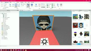 How To Put An Image On A Brick Roblox