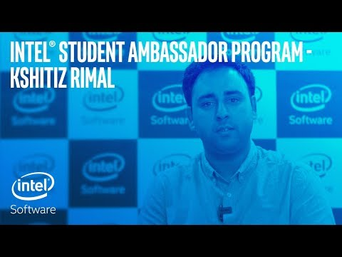 Kshitiz Rimal | Intel® Student Ambassador Program | Intel Software