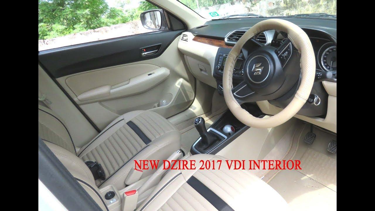 Maruti Suzuki Dzire Vdi 2019  U0915 U093e Interior  U0914 U0930 Inside View