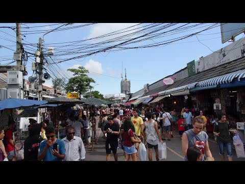 A Walk around the amazing Chatuchak Market Weekend Market in Bangkok, Thailand