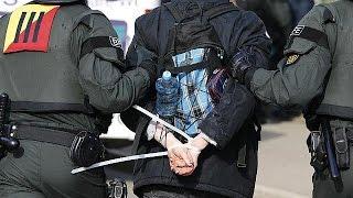Anti-AfD-Proteste in Stuttgart: Polizei nimmt 400 Demonstranten fest