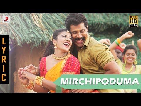 Saamy Telugu - Mirchi Poduma Lyric   Chiyaan Vikram, Ishwarya Rajesh   Hari   Devi Sri Prasad