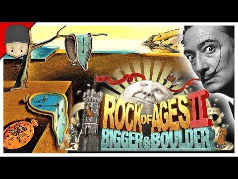 SALVADOR DALI! Rock Of Ages 2: Bigger & Boulder