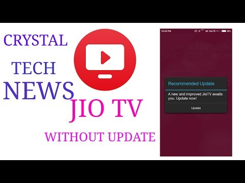 JIO TV PALY WITHOUT UPDAET