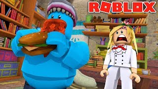 LA PETITE KELLY OUVRE SON PROPRE RESTAURANT !! Sharky Gaming - France Roblox