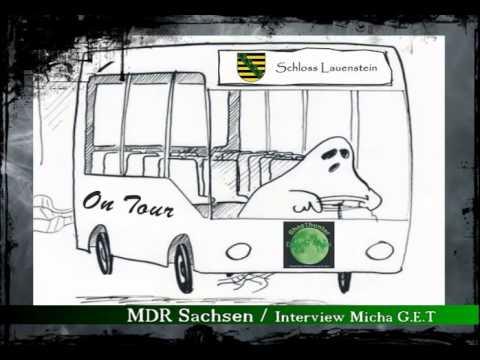 MDR 1 Radio Sachsen / Kurzes Interview mit Micha G.E.T