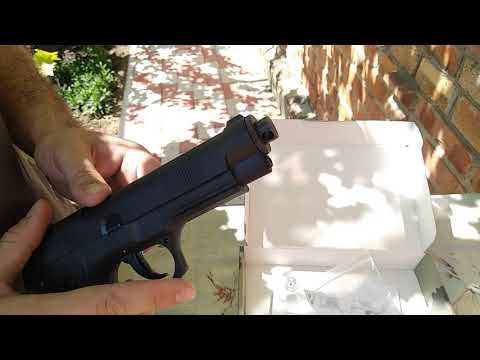 Стрельба из пистолета Атаман-М1