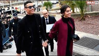 Cristiano Ronaldo se libera de la justicia española luego de declarar | ¡HOLA! TV