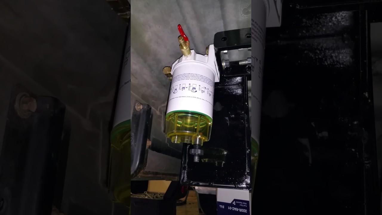 7 3 Ford Excursion Adding Racor Pre Pump Fuel Filter