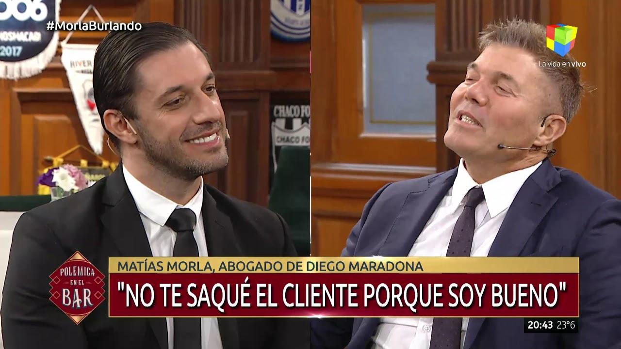 Fuerte mano a mano entre Matias Morla y Fernando Burlando, los abogados de Maradona y Claudia