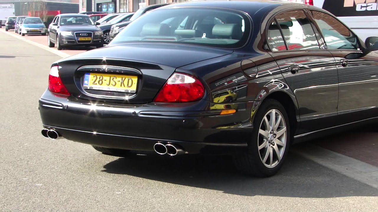 jaguar s type 4 2 v8 sport exhaust system by maxiperformance youtube. Black Bedroom Furniture Sets. Home Design Ideas