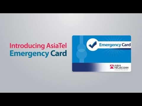 Asia Telecom Emergency Card