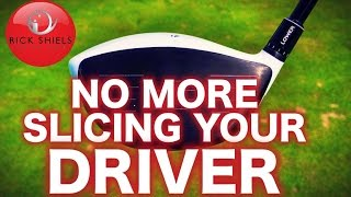 One of Rick Shiels Golf's most viewed videos: NO MORE SLICING YOUR DRIVER!