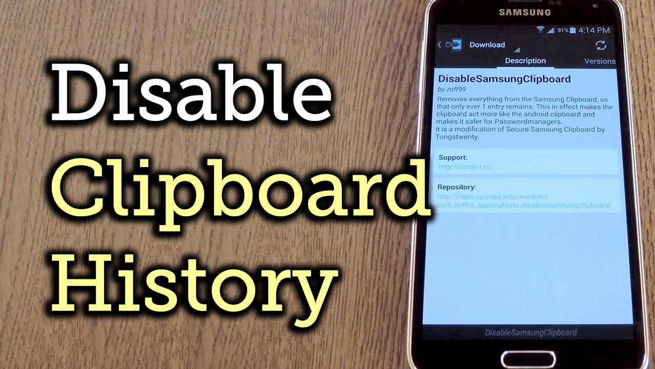 Electronic Clipboard Android Phone secure your samsung device by removing the clipboard history how to