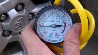 Автомобільний компресор ЦИКЛОН НХ-312. Качаємо шину 225/65 R17