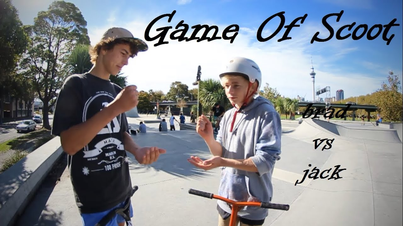 Game Of Scoot Brad Aitchison Vs Jack Simkin Youtube