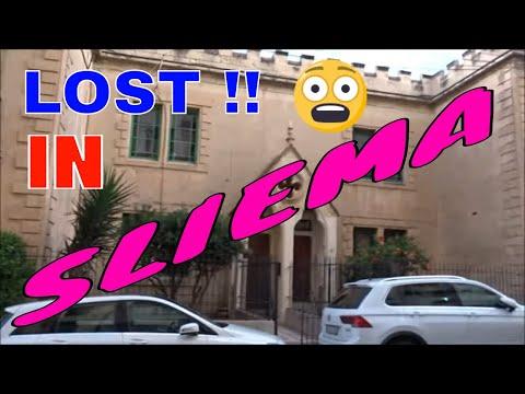 Lost in ..... Sliema .MALTA