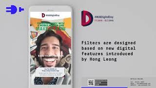Hong Leong Bank Digital Day Facebook AR Campaign
