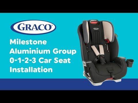 Installation Guide for Graco - Milestone Aluminium Group 0-1-2-3 Car Seat| Smyths Toys