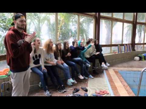 Слайдшоу зимової зміни 2014/2015 дитячого табору ДВІЖОК