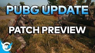 PUBG Update: Patch Notes Preview + Server Optimization Working? - BATTLEGROUNDS NEWS + GAMEPLAY