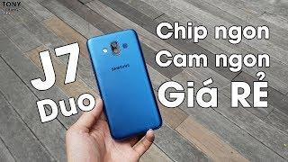 Galaxy J7 Duo - Chip mạnh, Camera ảo diệu, giá rẻ