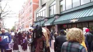 Skeksi in Salem, MA Halloween 2014