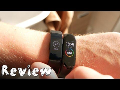 Fitbit Inspire HR vs. Xiaomi Mi Band 4 - Vergleich und Doppel-Review in Farbe