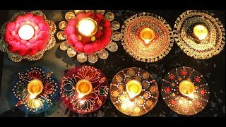 4 Amazing Diya Holders From Waste CD