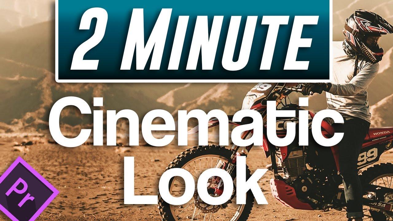 Cinematic Look Trick in Premiere Pro