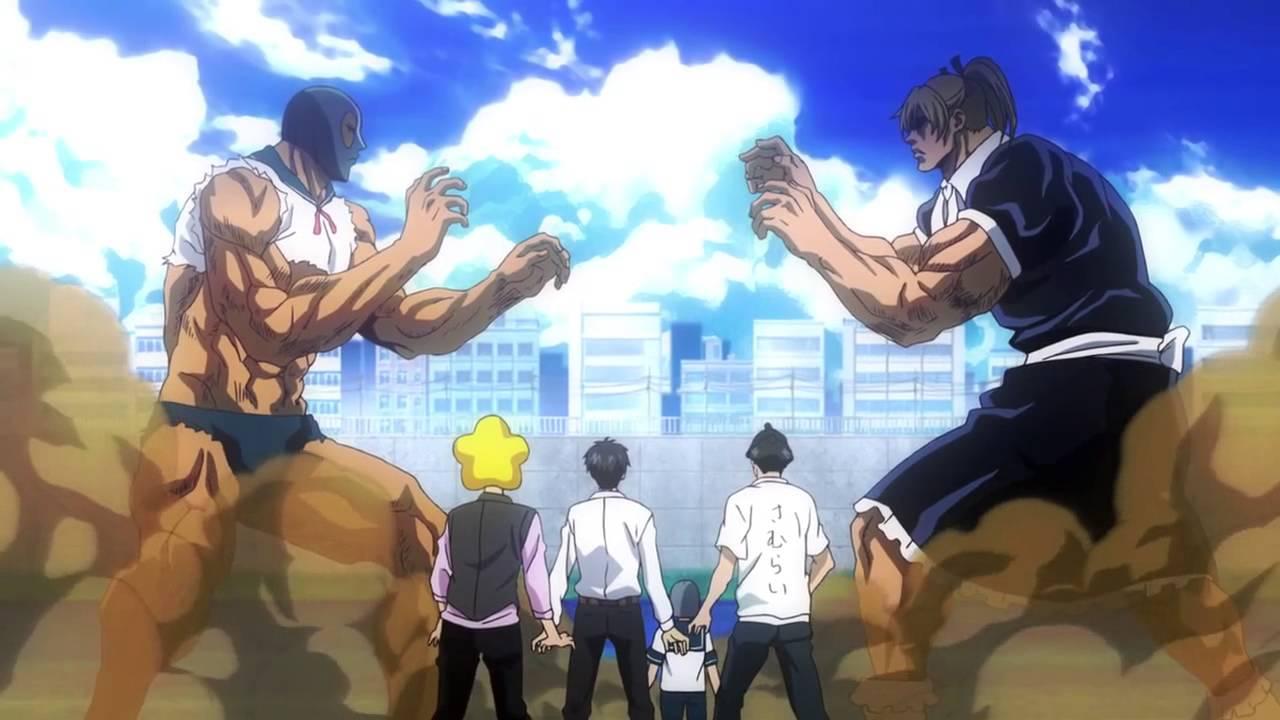 Epic Anime Fight Scene Tetsuo VsStella Tetsuro