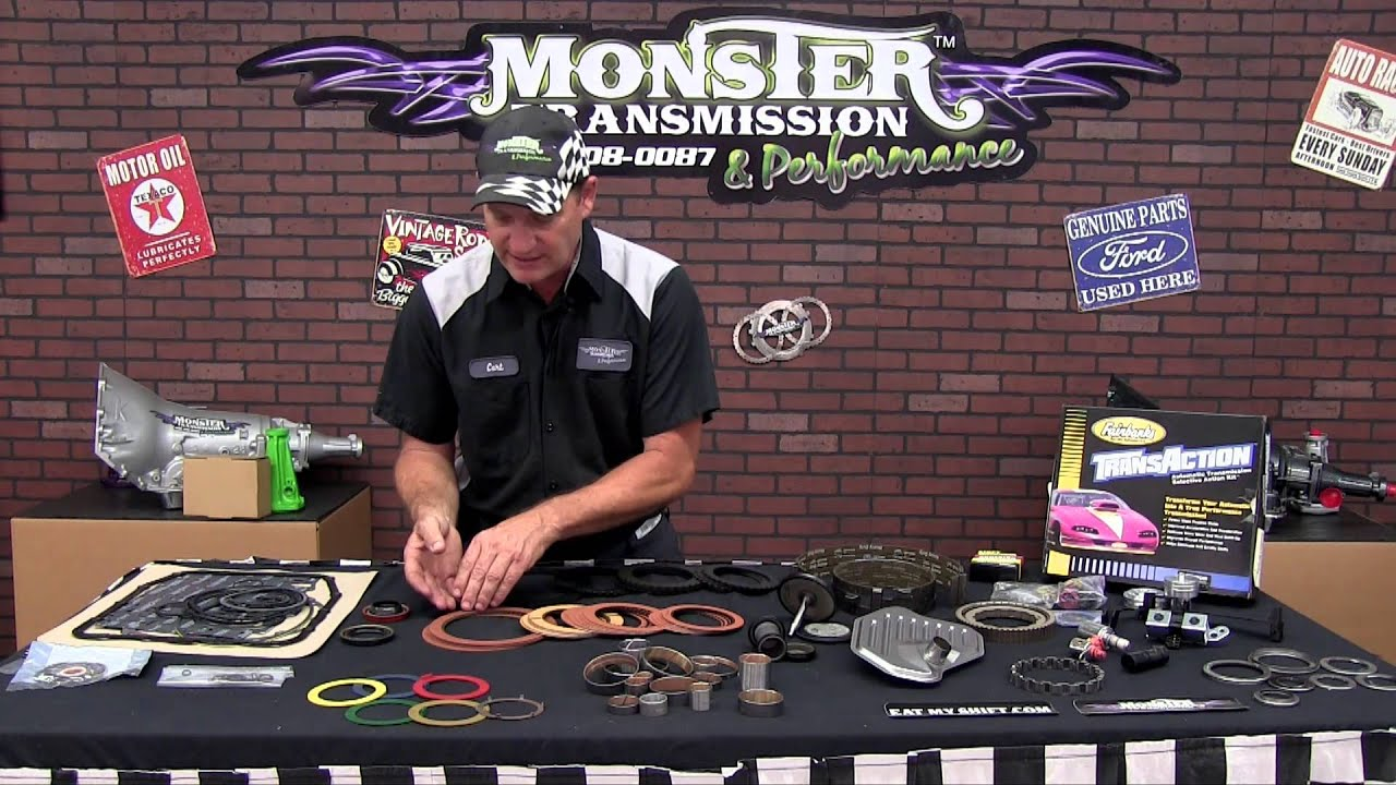 Monster Transmission's 4R70W SS Monster In A Box