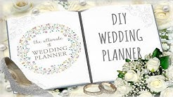 DIY Wedding Planner (Cheap and Budget Friendly)