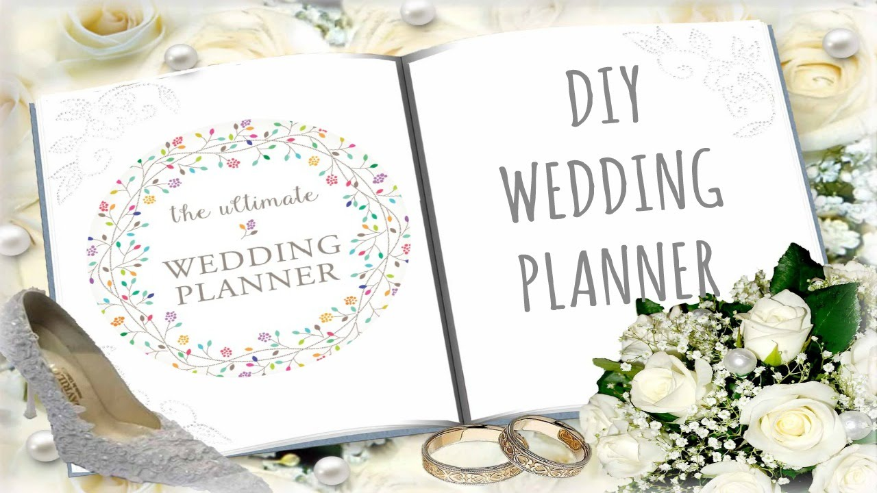 diy wedding planner cheap and budget friendly youtube