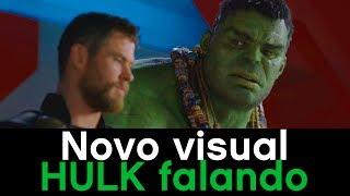 Hulk debochando de Thor e com novo visual - Thor Ragnarok #AMcorp - André Martins
