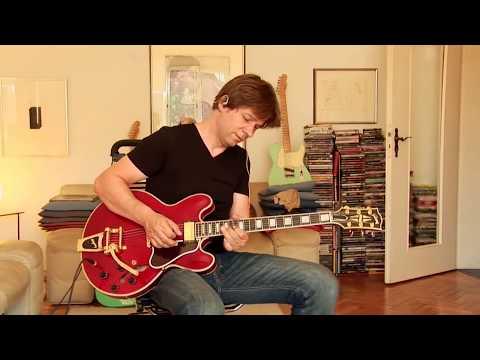 2006 Gibson ES-355 Mono, cherry, Bigsby Custom Shop Memphis, Part1