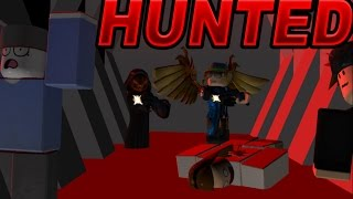 Being HUNTED in roblox (ha ha ha)