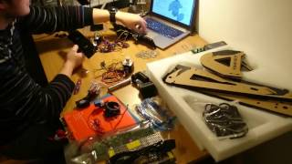 Unboxing and assembling 3D Printer