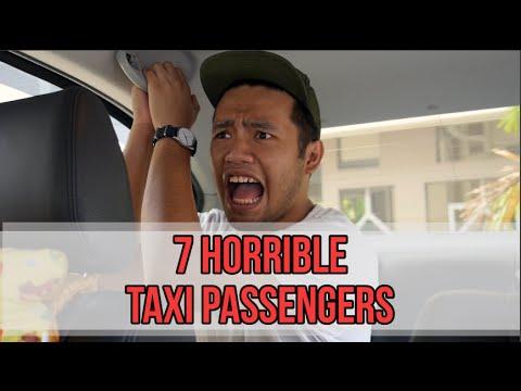 7 Horrible Taxi Passengers