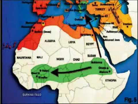 BEYTE ISRAEL Lost Black Sheep African Migration Maps Pre SLAVERY.avi