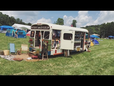 BUSLIFE - a road trip to The Werk Out Music & Art Festival in a WANDERING.BOUTIQUE