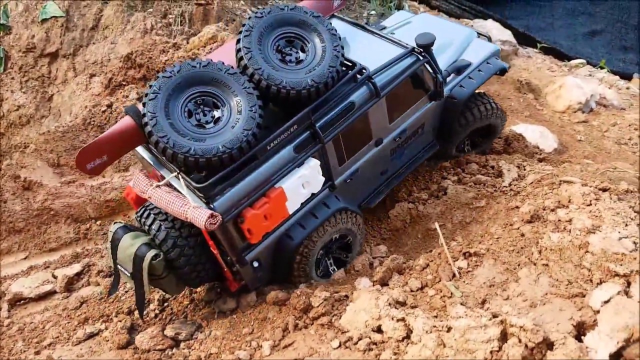 Traxxas Trx4 With 3d Printed Accessories 2 Youtube