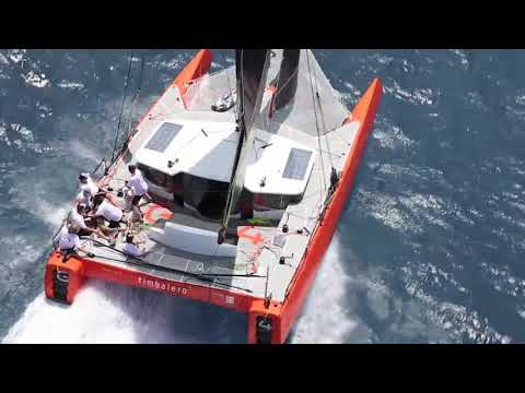 DNA Performance Sailing G4 catamaran foiling sailboat sea trialling the first G4 in St Maarten compo
