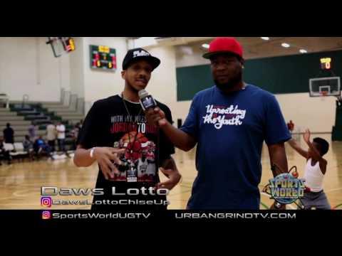 Daws Lotto @ Jabari Parker Basketball Game Chicago Metroplex | @UrbanGrindTV Sports World