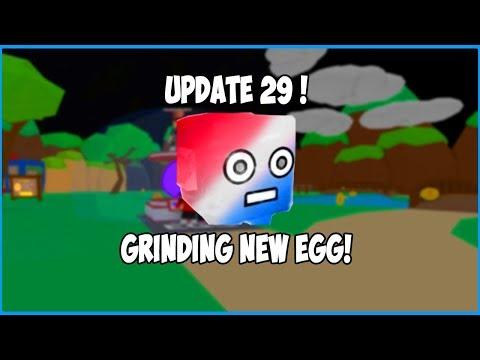 *NEW* UPDATE 29 GRINDING THE PATRIOTIC EGG! BUBBLE GUM SIMULATOR ROBLOX